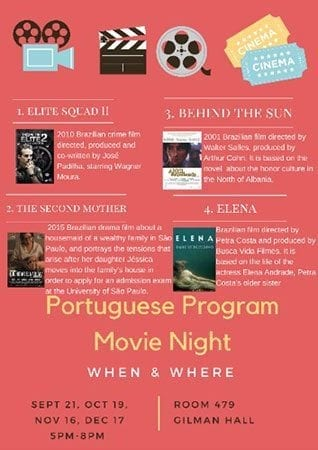 Portuguese Program Movie Night