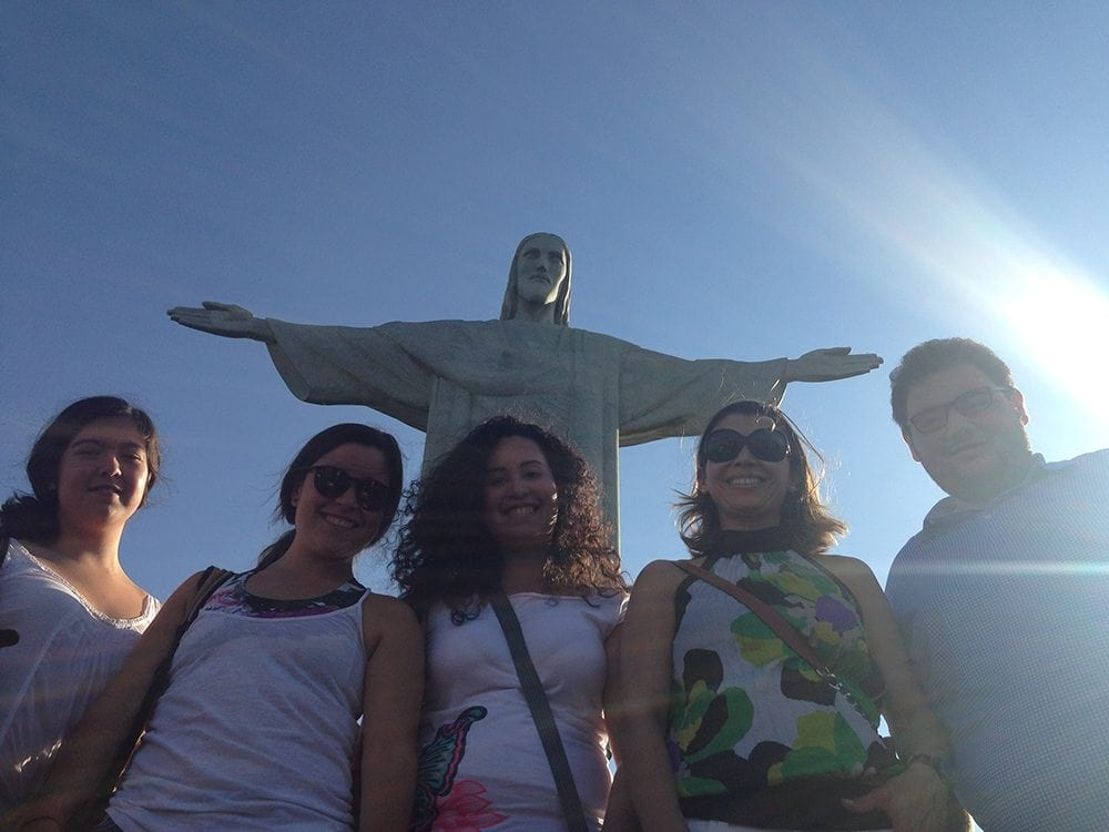 Summer 2015 Rio study abroad group