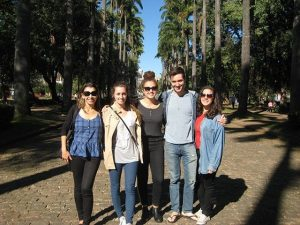 Summer 2016 study abroad students