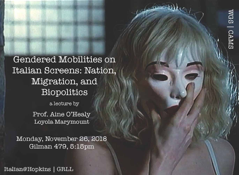 Gendered Mobilities on Italian Screens: Nov. 26