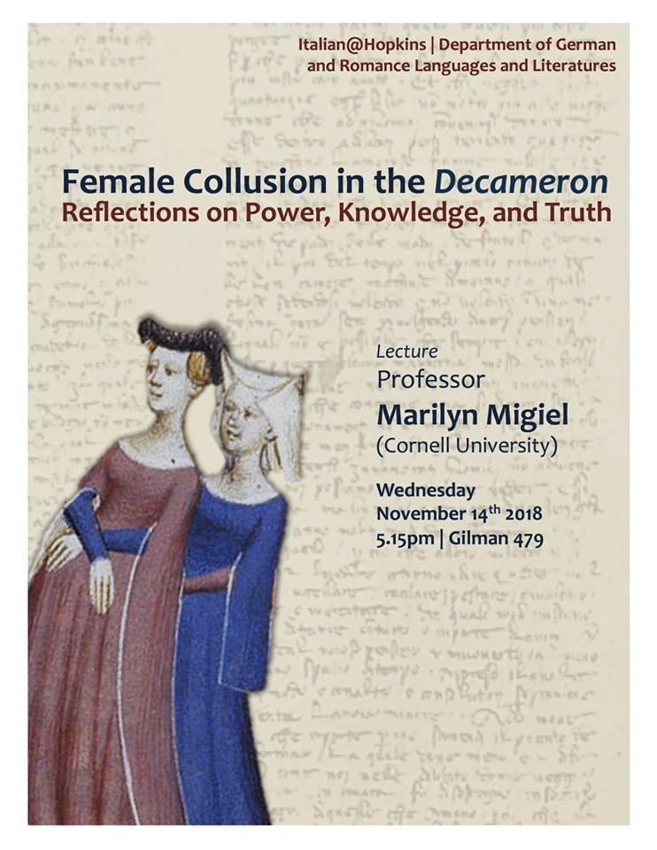 Female Collusion in the Decameron: November 14