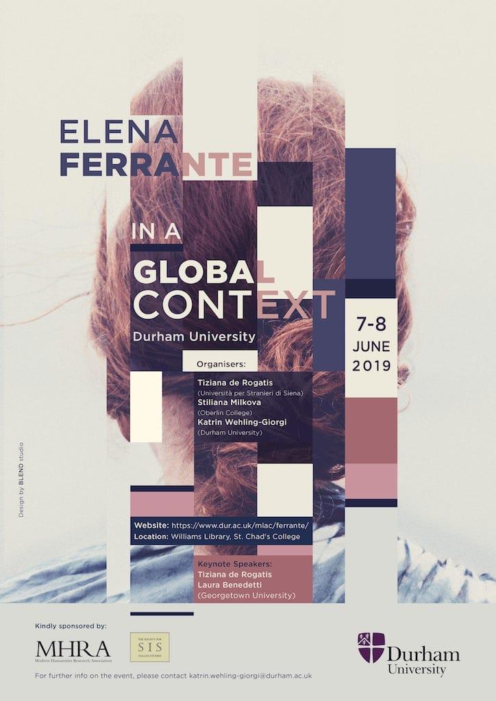 Special MLN Italian 2021: Elena Ferrante in a Global Context