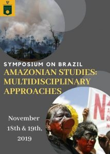 Symposium on Brazil, Amazonian Studies: Multidisciplinary Approaches flyer