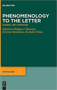 Phenomenology to the Letter: Husserl and Literature
