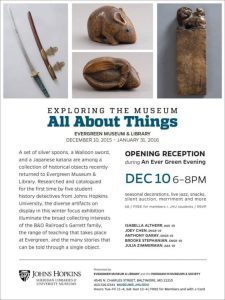 All About Things event flyer