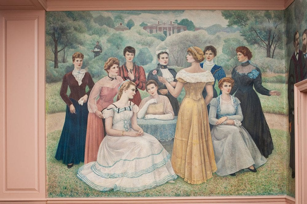 Shriver Hall Murals