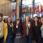 Elizabeth Rodini and Students