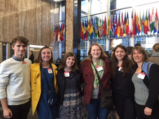 Students Attend Hearing of the Cultural Property Advisory Committee