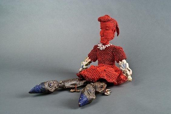 Joyce J. Scott's Ancestry Doll 1