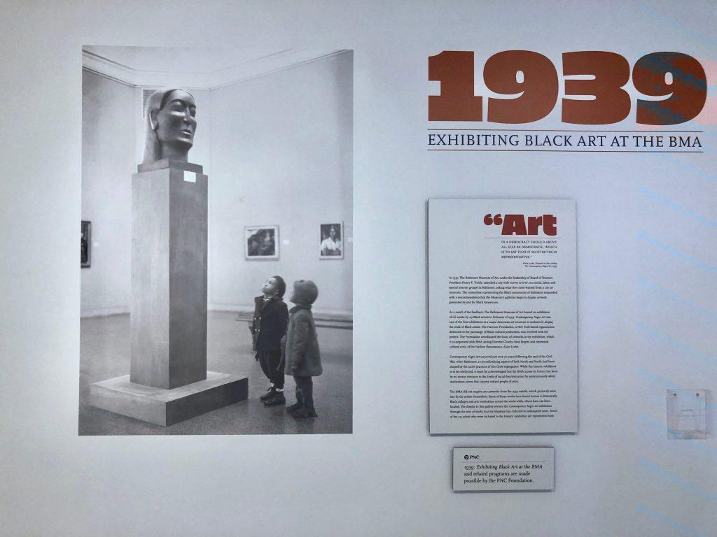 1939: Exhibiting Black Art at the BMA