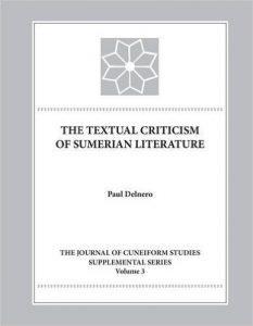 The Textual Criticism of Sumerian Literature