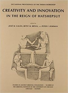 Creativity and Innovation in the Reign of Hatshepsut