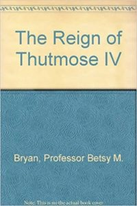 The Reign of Thutmose IV Book Cover