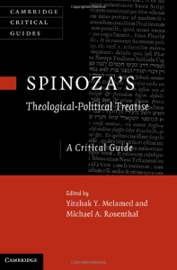 Spinoza's Theological-Political Treatise: A Critical Guide, Edited by Yitzhak Melamed
