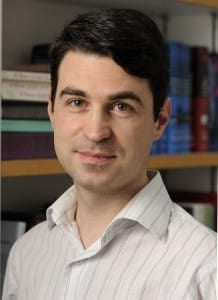 JHU's Ménard named Maryland's Outstanding Young Scientist of 2012 by the Maryland Academy of Sciences