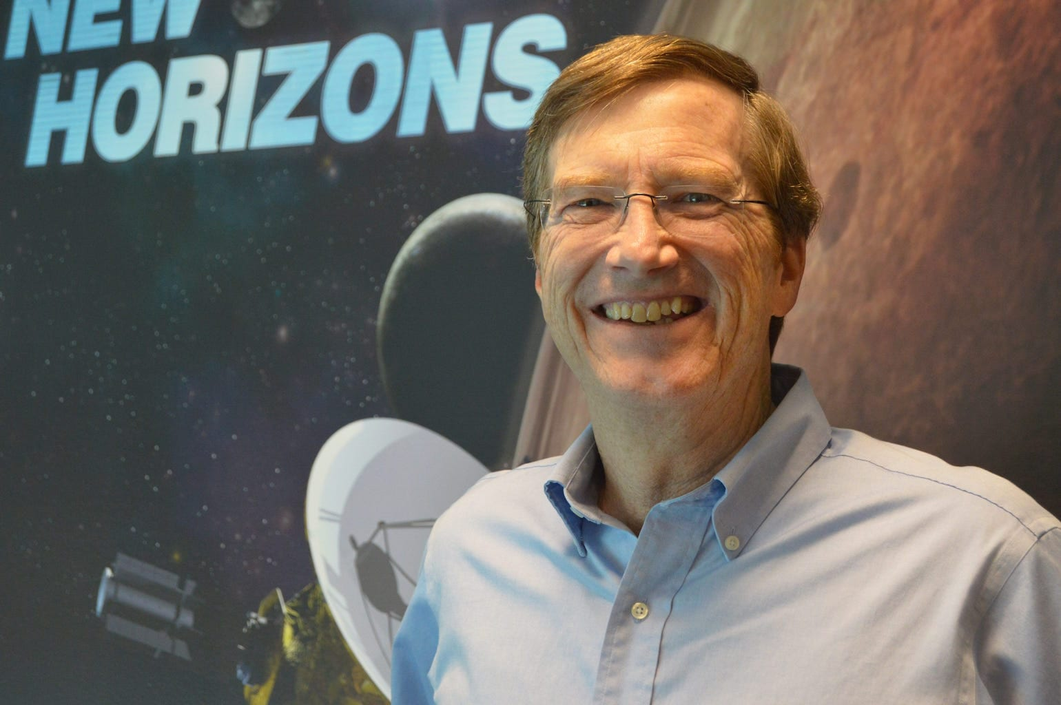 Watch Hal Weaver, Project Scientist for the New Horizons Mission to Pluto, Speak at Bloomberg Center