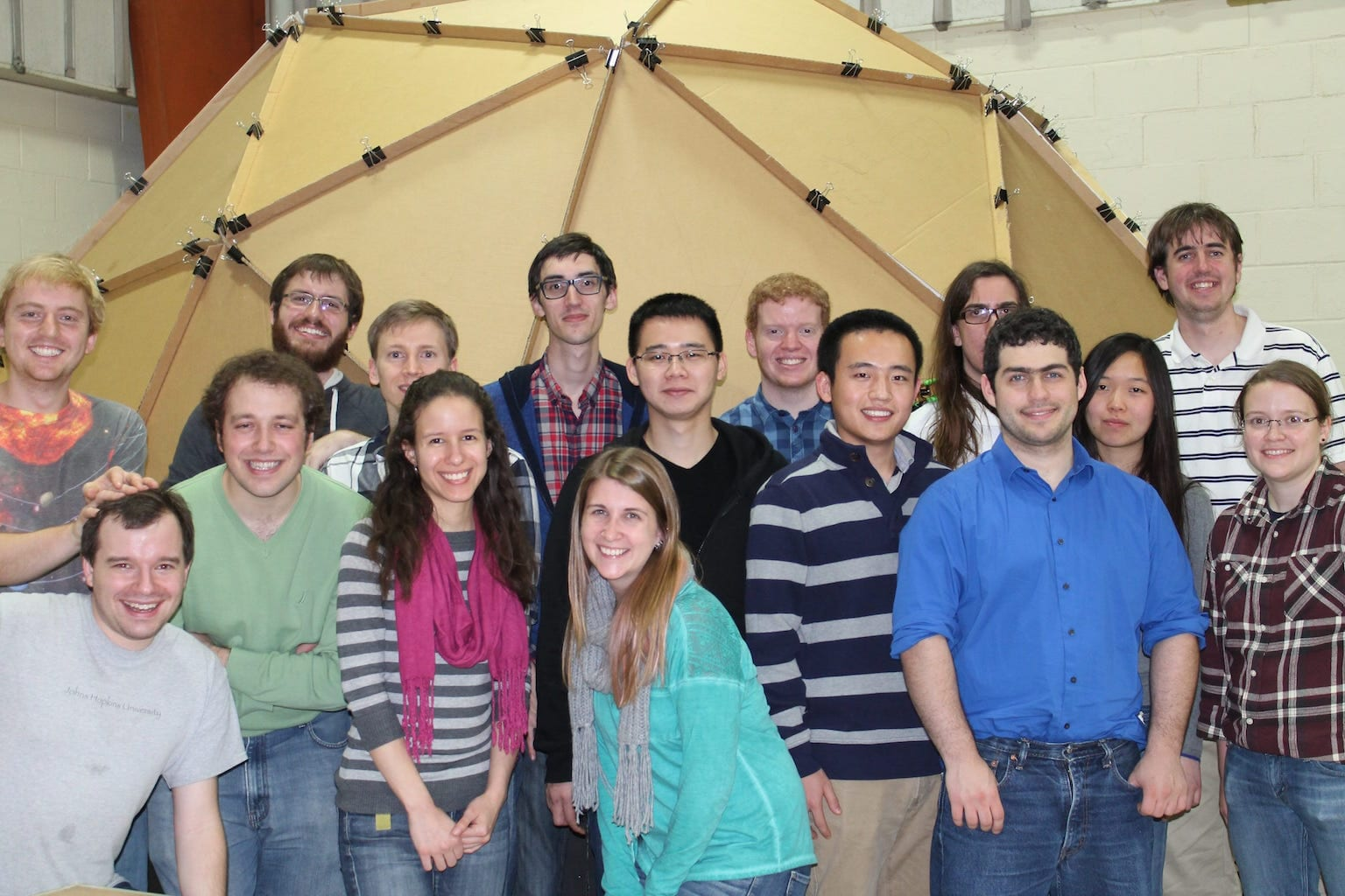 Physics and Astronomy Graduate Students Volunteer at STEM Recognition Event