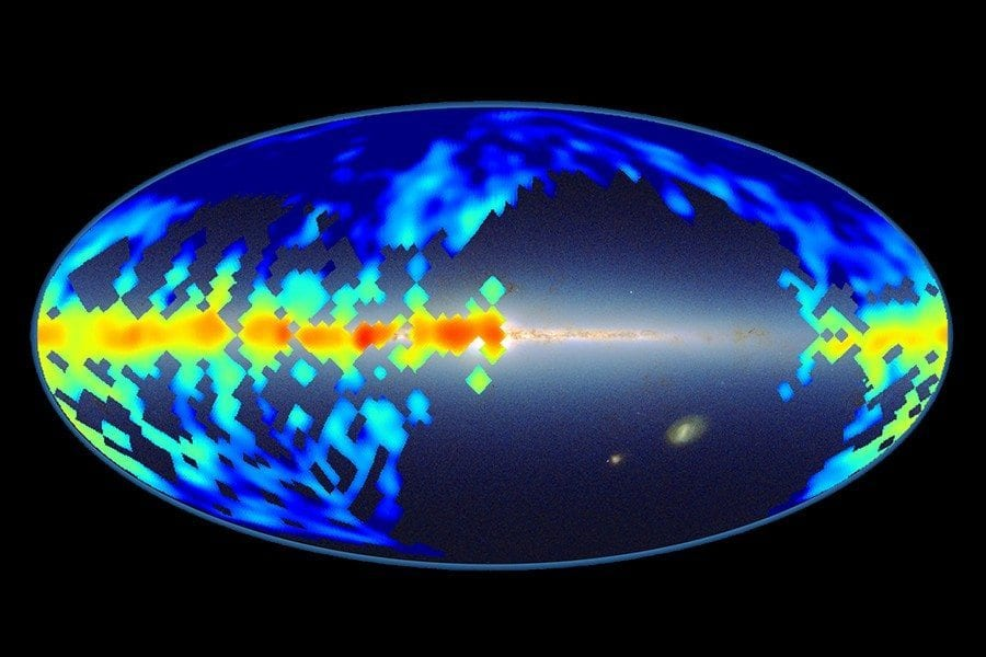 JHU Astrophysicists Unveil Map of Mysterious Molecules in the Milky Way