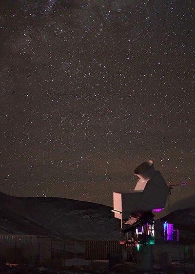 High-powered CLASS Telescope Receives 'First Light'