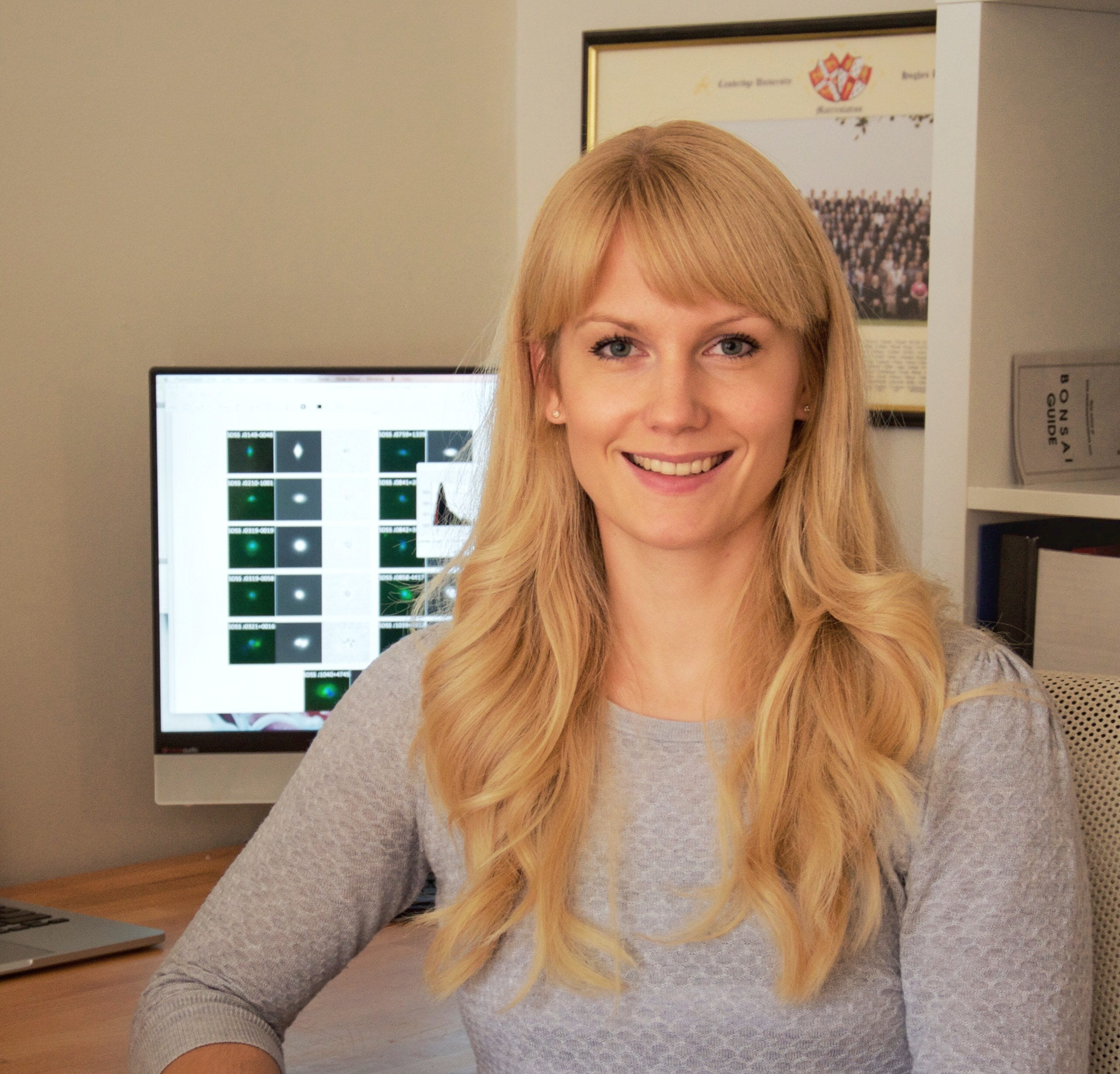 Dominika Wylezalek Awarded the 2017 JHU Provost's Postdoctoral Diversity Fellowship