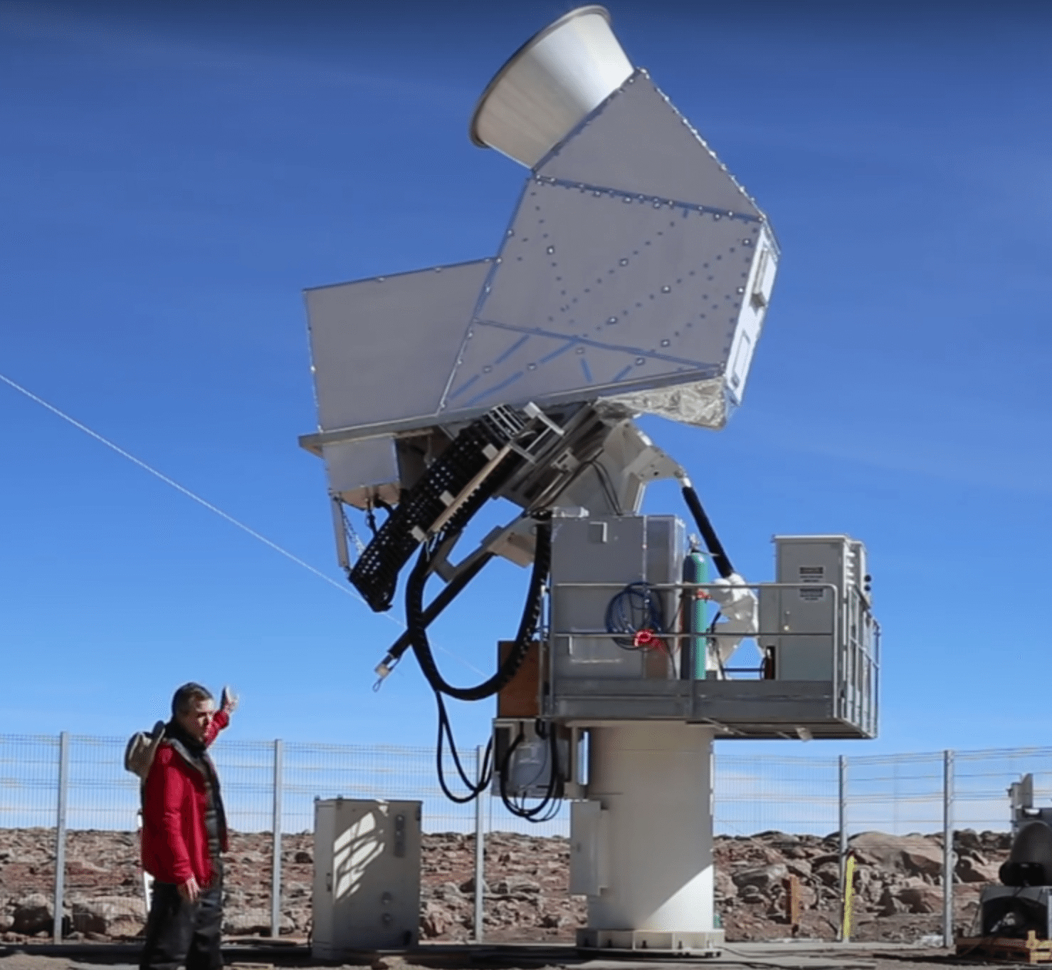 Take a Video Tour of the CLASS Telescope Site in Chile's Atacama Desert