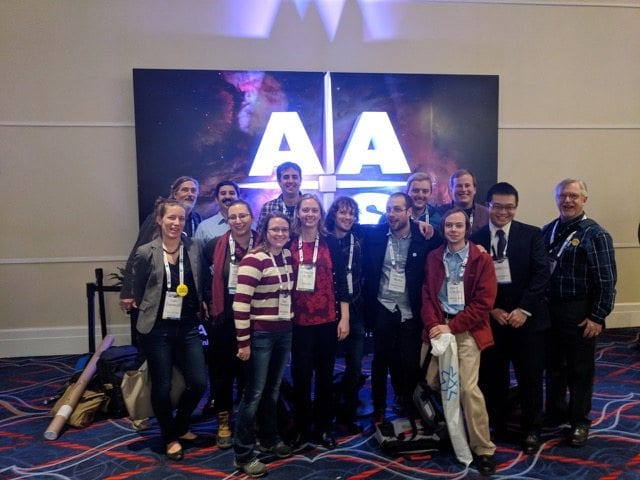 Strong JHU Showing at the 231st Meeting of the American Astronomical Society