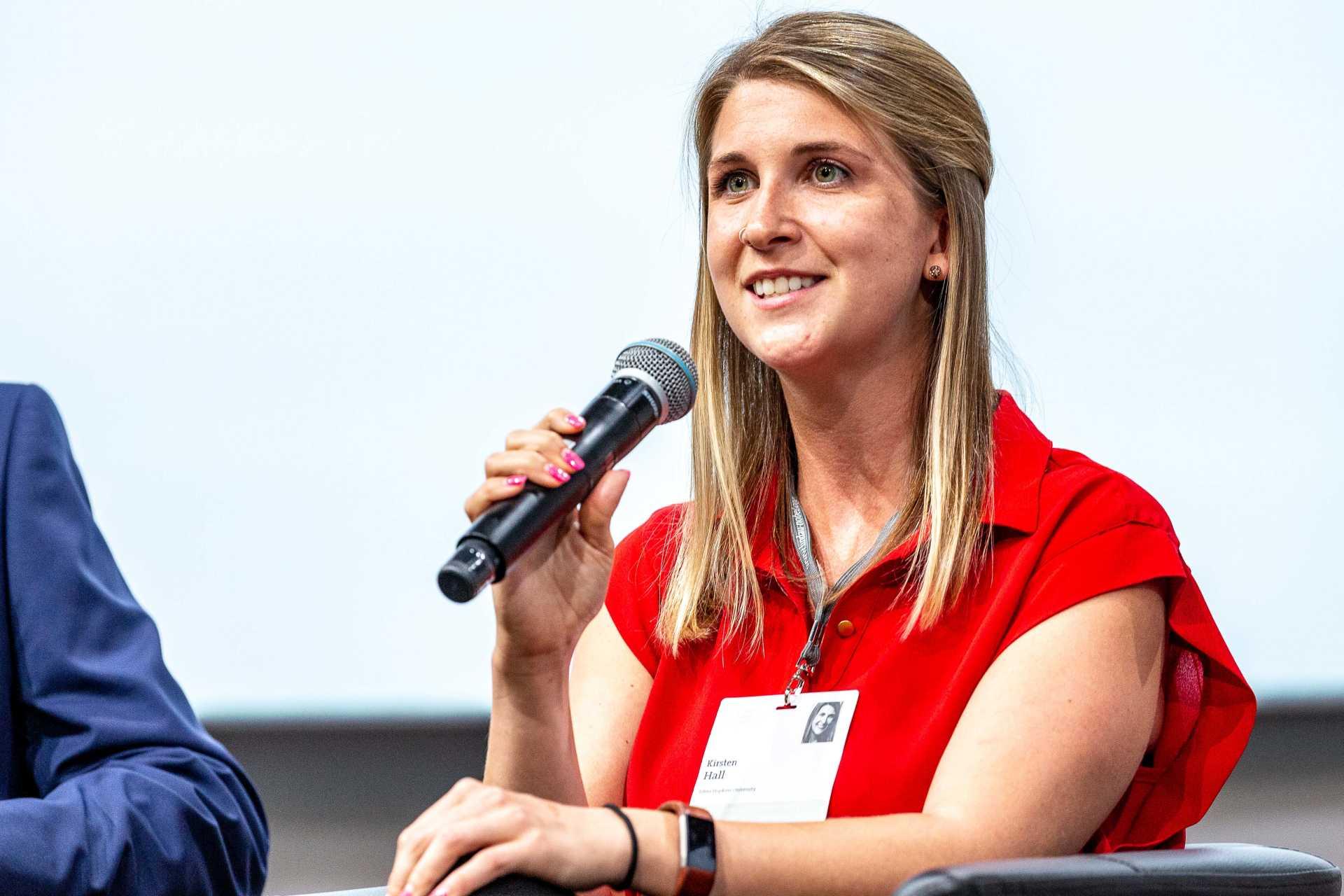 Kirsten Hall Named Schmidt Science Fellow