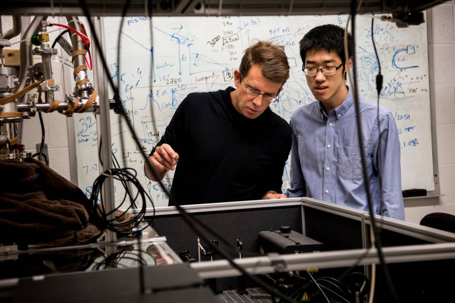Peter Armitage and Collin Broholm Receive Grants from the Gordon and Betty Moore Foundation to Further our Understanding of the 'Weirdness' of Quantum Materials
