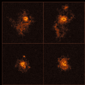 New York Times Article About the Origin of Galactic Clusters Features Department Members' Research