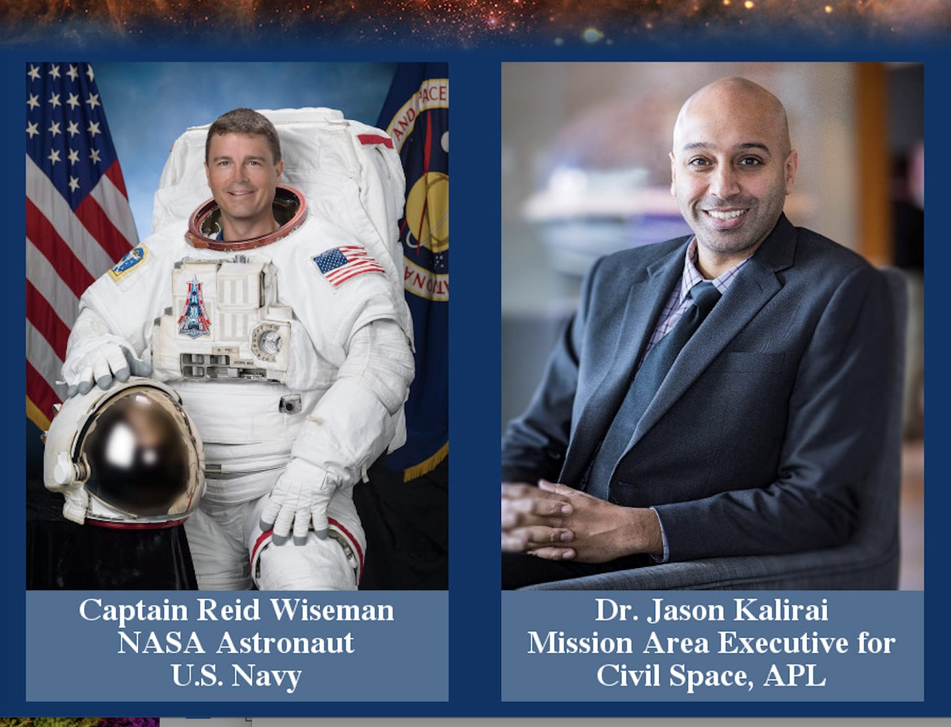 Space@Hopkins Virtual Symposium Slated for Oct. 22 @ 1 PM – Registration Now Open