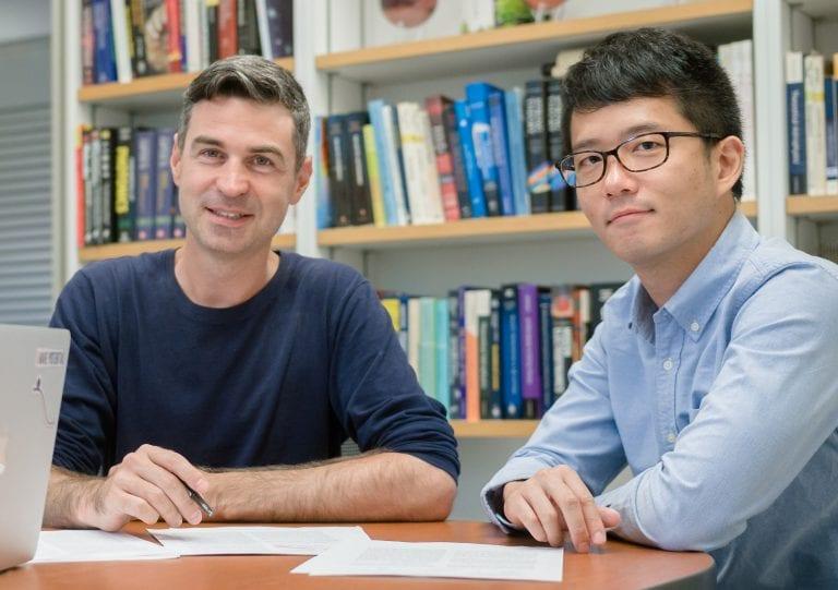 Brice Ménard and Yi-Kuan Chiang Measure the Global Warming of Galaxies