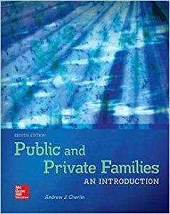 Public and Private Families Book Cover