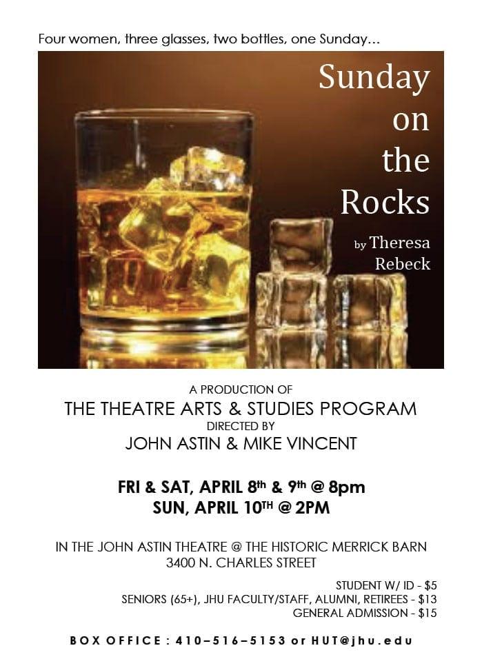 April 8-10: Sunday on the Rocks