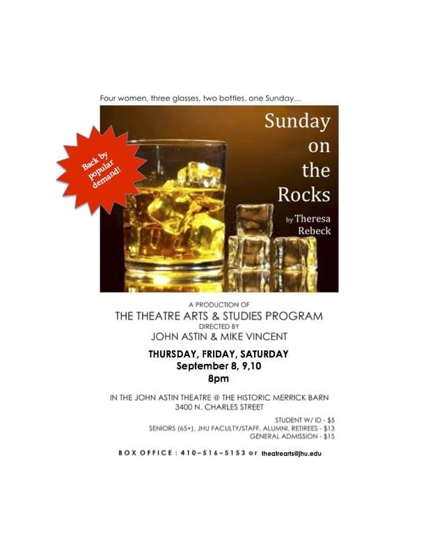 Sept. 8-10: Sunday on the Rocks