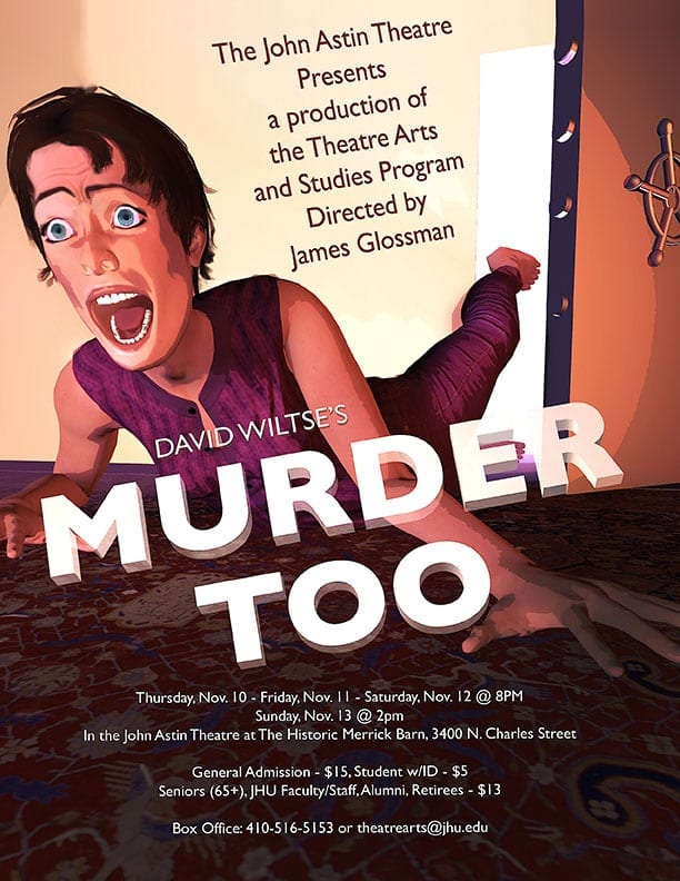 Nov. 10-13: Murder Too