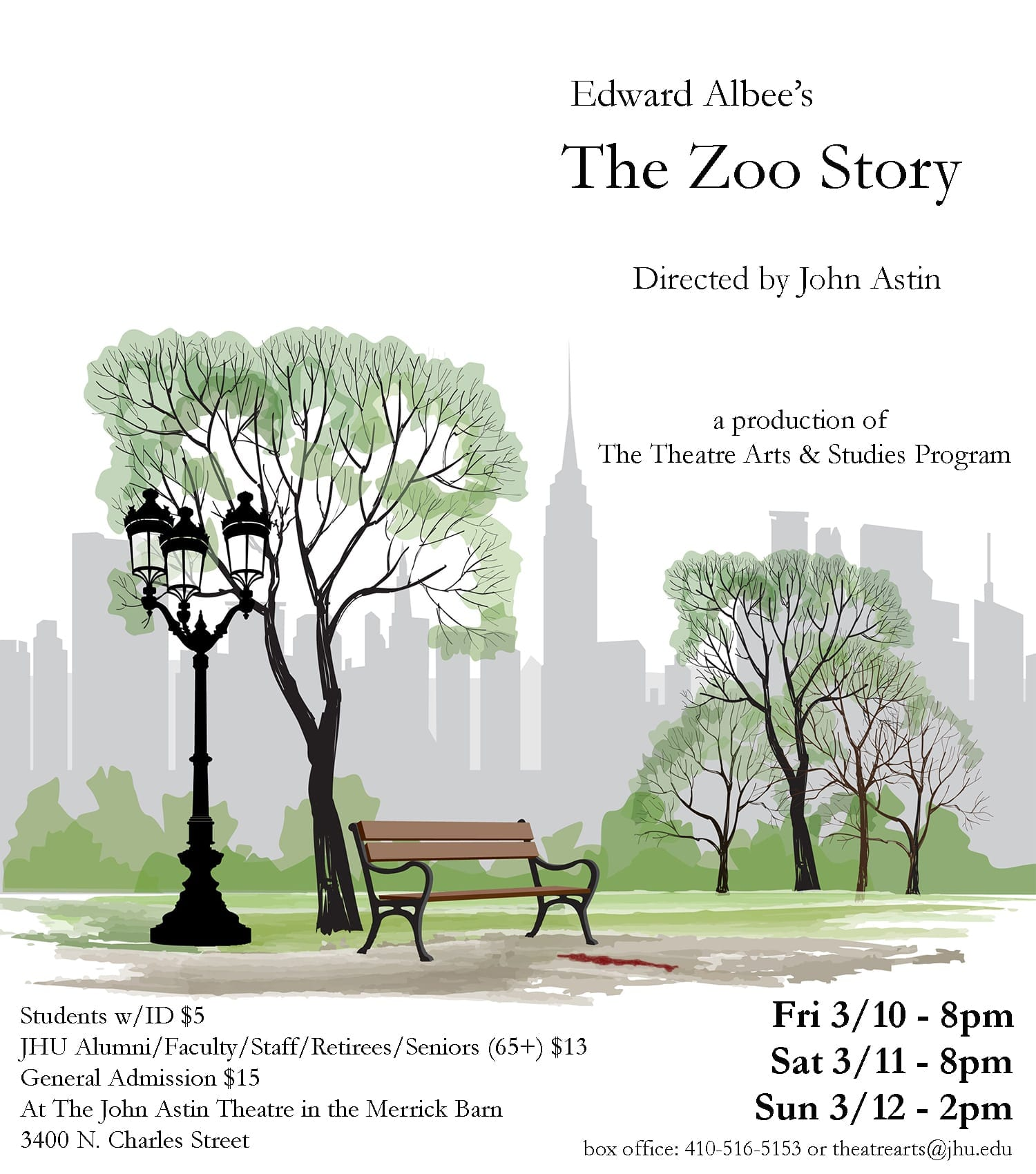 March 10-12: The Zoo Story