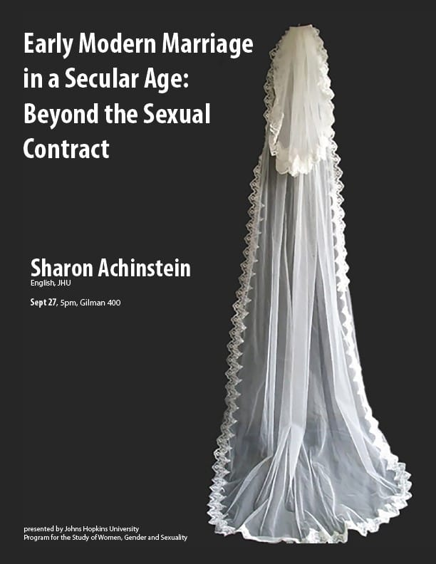 Early Modern Marriage in a Secular Age: Beyond the Sexual Contract
