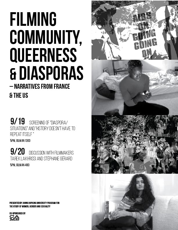 Filming Community, Queerness & Diasporas - Narratives from France and the US