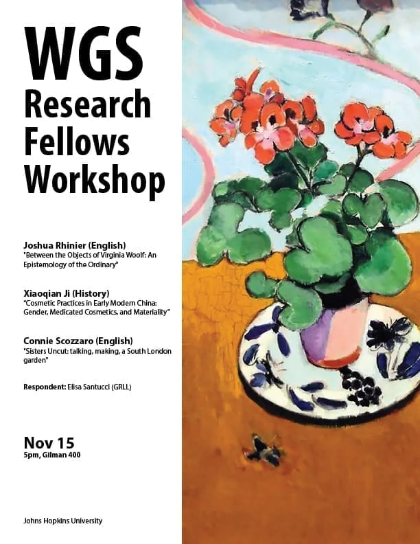 WGS Research Fellows Workshop