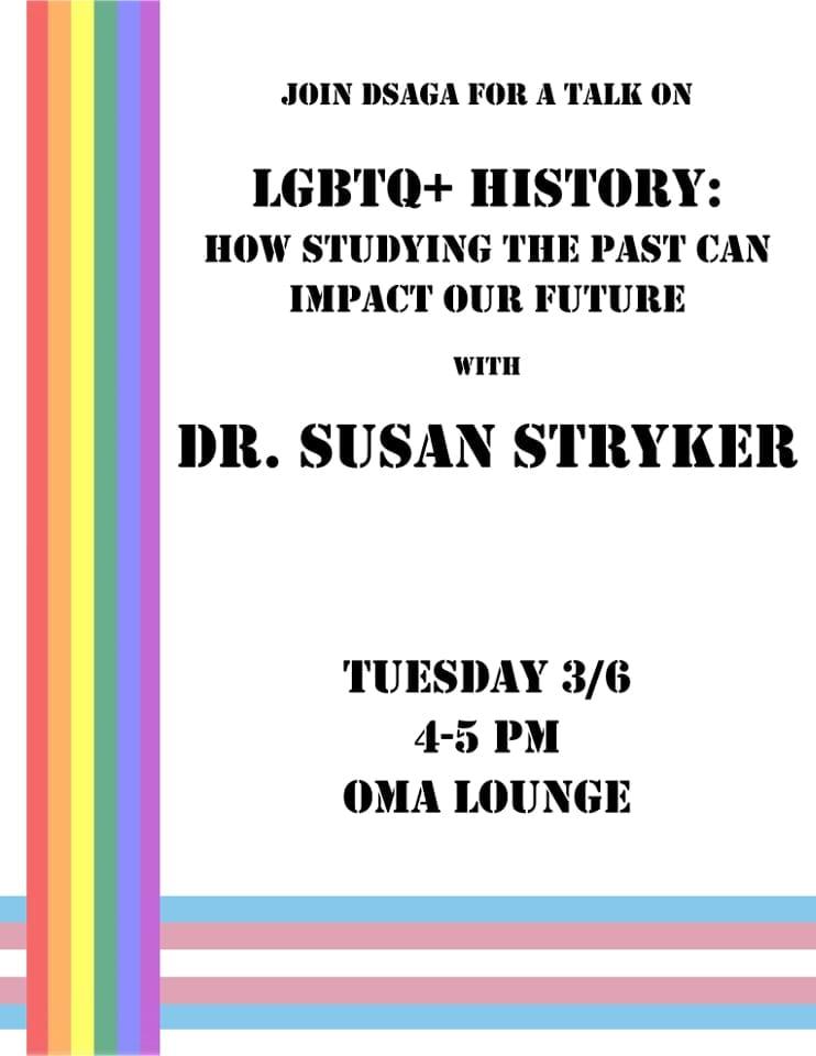 Distinguished Visiting Scholar - Susan Stryker