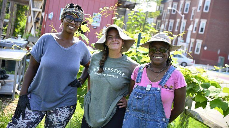 Interns Make an Impact on Baltimore Community